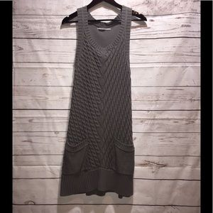 NORDSTROM RUBBISH SWEATER DRESS SIZE LARGE